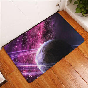 2017 New Home Decor Star Galaxy Carpets Non-slip Kitchen Rugs for Home Living Room Floor Mats 40X60 50X80cm