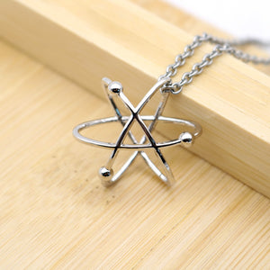 Atom Science Pendant Necklace