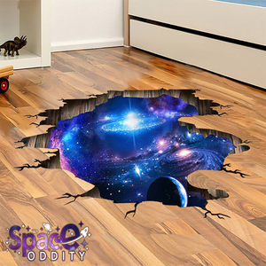 Outer Space Planets 3D Sticker