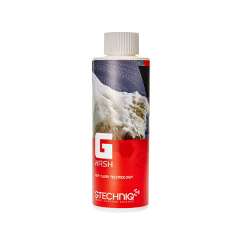 G Wash has been specifically formulated to work in harmony with Gtechniq's range of coatings