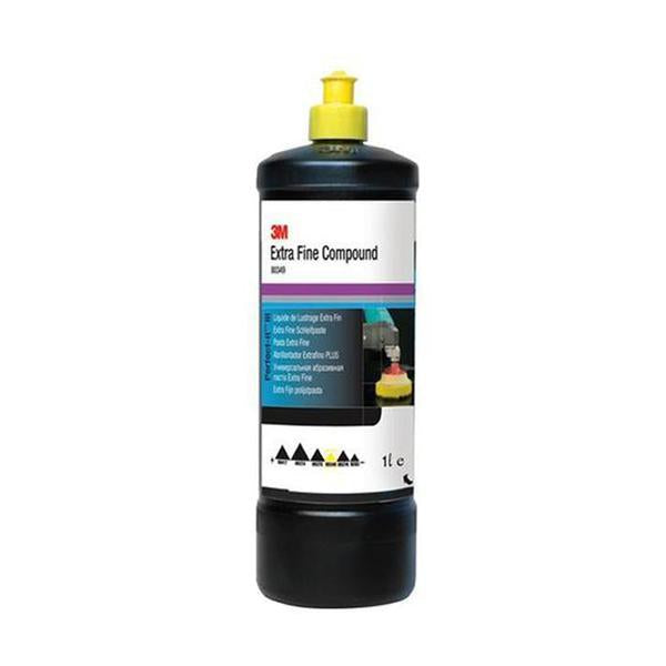 extra fine polishing compound provides a medium to fine cut and high gloss