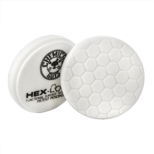 Chemical Guys Hex-Logic Light-Medium Polishing Pad White 5.5 Inch