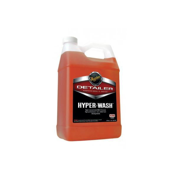Meguiars Hyper Wash makes sure that the dirt is off all the exterior surfaces.