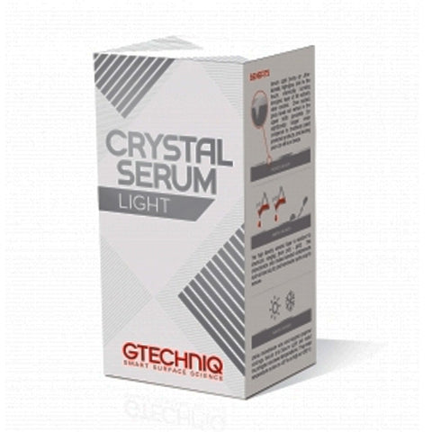 Crystal Serum is the prosumer version of the world famous Gtechniq Accredited Detailer only Crystal Serum.