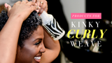 Best Products to use on Kinky Curly Weave