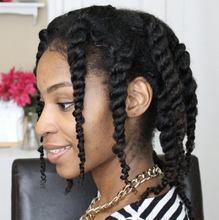 how to style natural hair clip ins
