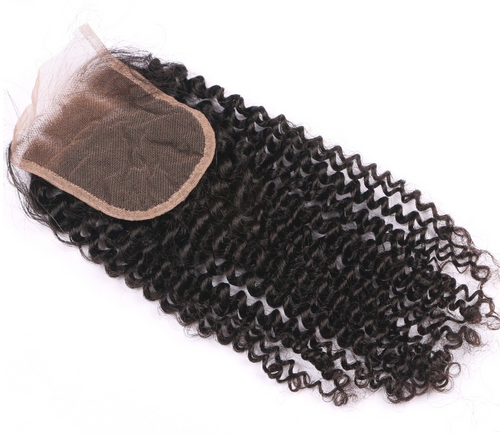 Kinky Curly Free Part Lace Closure