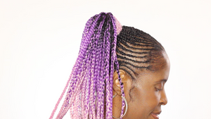 Galaxy Blush Ombre Synthetic Kanekalon Braiding Hair