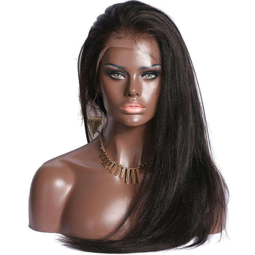 Yaki Straight Lace Front Wig- DPYS