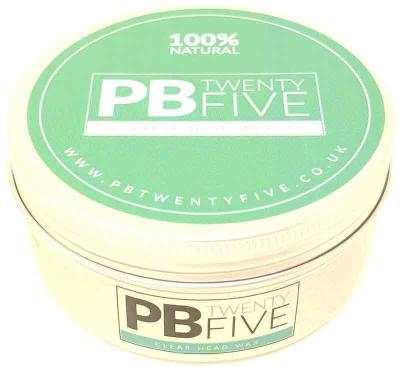 Clear Head Massage Wax - PB TwentyFive