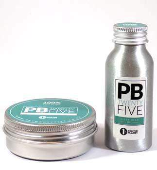 Clear head starter pack (50ml wax and oil) - PB TwentyFive