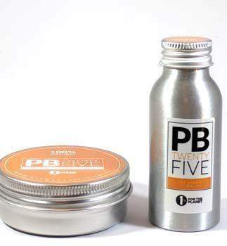 Pre-sports massage oil and massage wax (50ml wax and oil) - PB TwentyFive