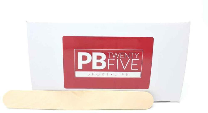 Wax Spatulas (Box contains 100) - PB TwentyFive