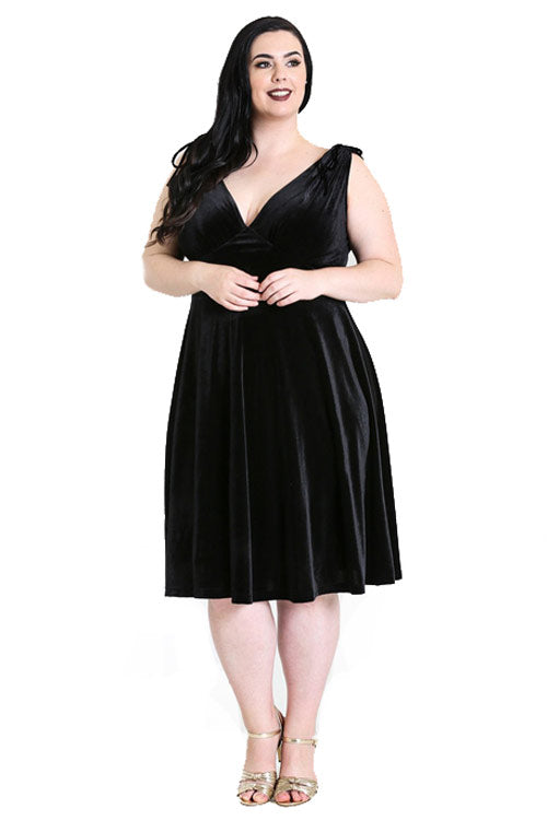 Hell Bunny Melina Dress in Black