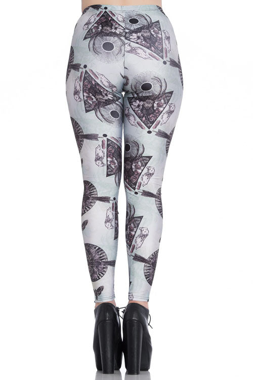 Spin Doctor After Death Leggings