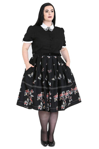 Hell Bunny Laeticia 50's Skirt