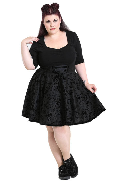 Hell Bunny Maleficent Skirt