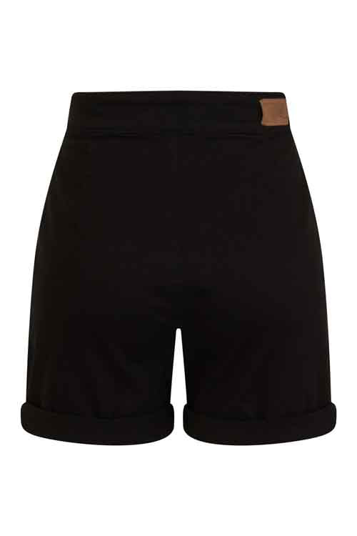 Hell Bunny Yaz Short in Black Denim