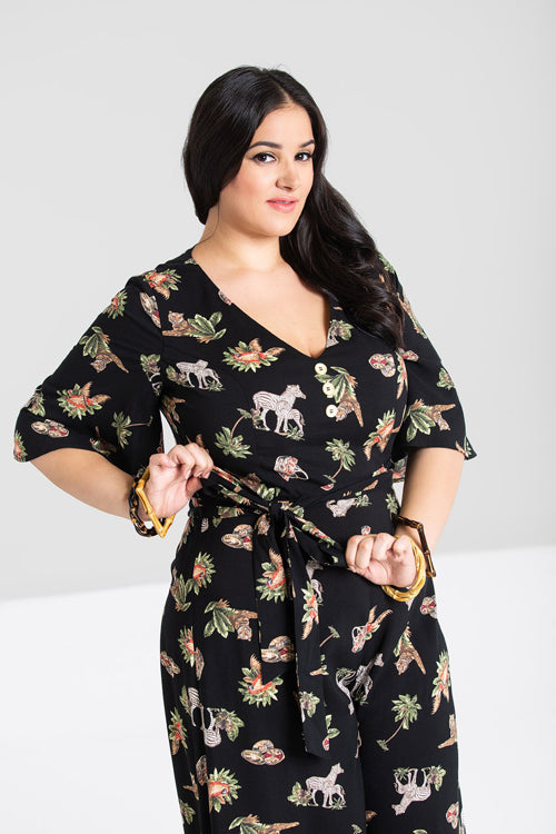 Hell Bunny Messina Jumpsuit