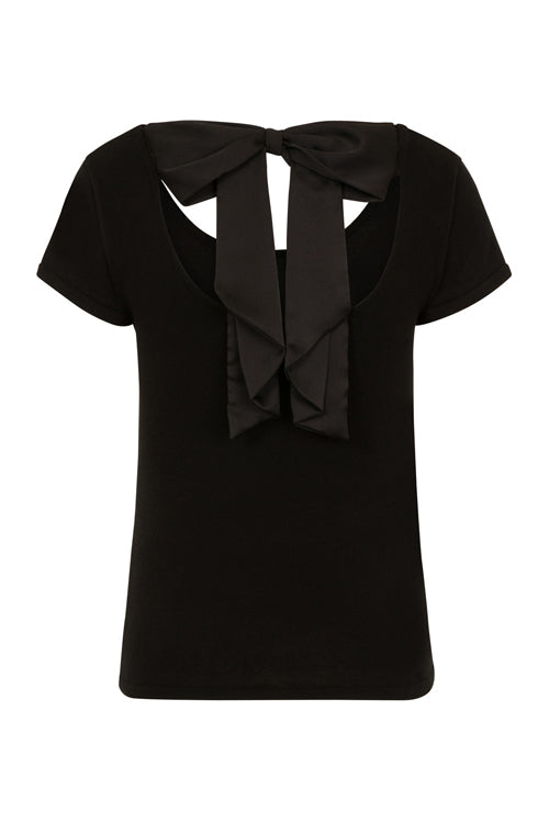 Hell Bunny Celine Top in Black