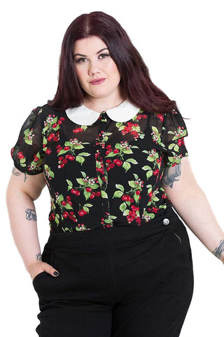 Hell Bunny Cherie Blouse