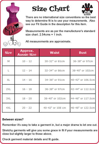 Hell Bunny Mexico 50's Skirt