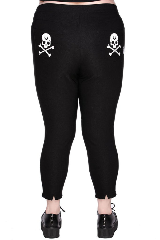 Killstar Bad Baby Capri Pants