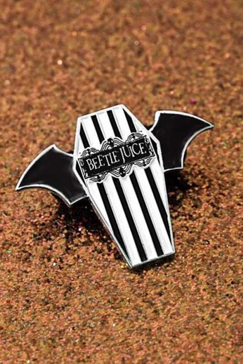 Lively Ghosts Beetlejuice Enamel Pin