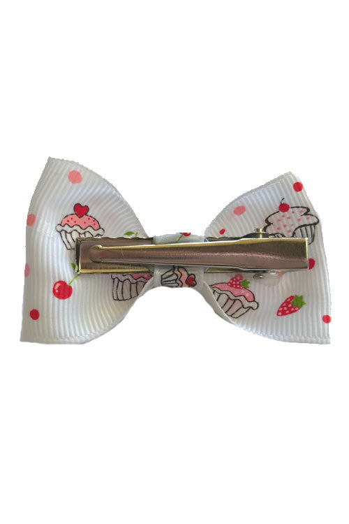 Beetle Bow Pair in Red