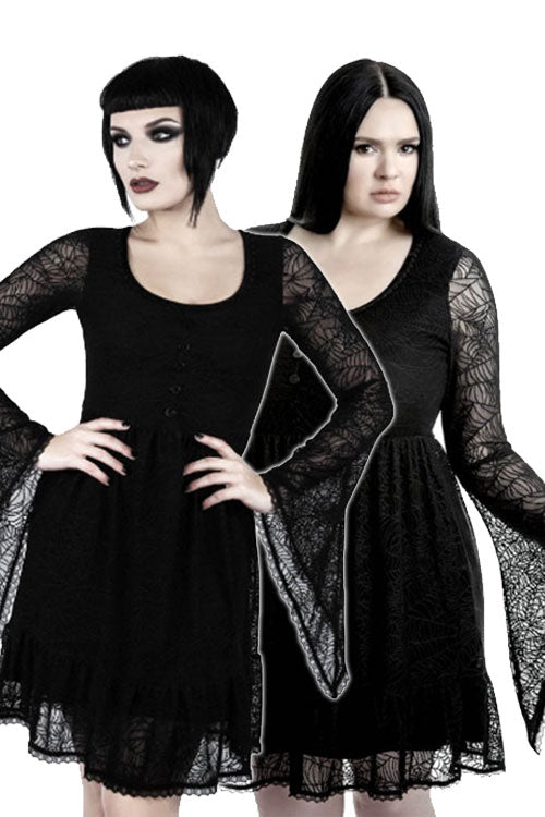 Killstar Casket Cutie Web Dress