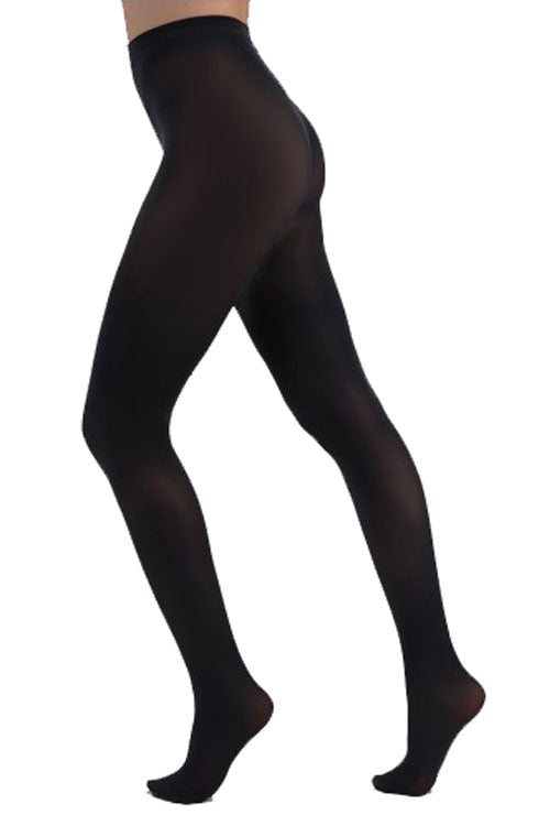 Pamela Mann Hosiery Curvy Super-Stretch 50 Denier Tights in Charcoal