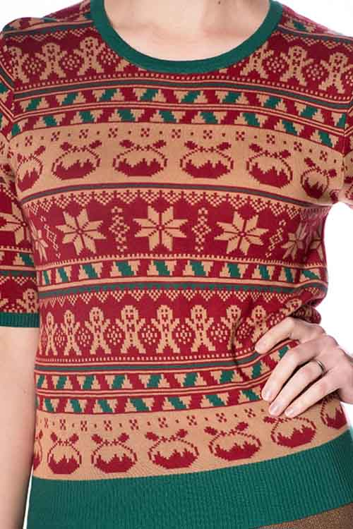 Banned Christmas Pud Jumper