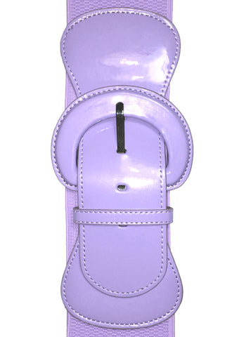 "Kitty Deluxe 3"" Cinch Belt in Lavender"
