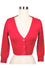 MAK Sweaters Cropped Cardigan with 3/4 Sleeves in Rose Pink