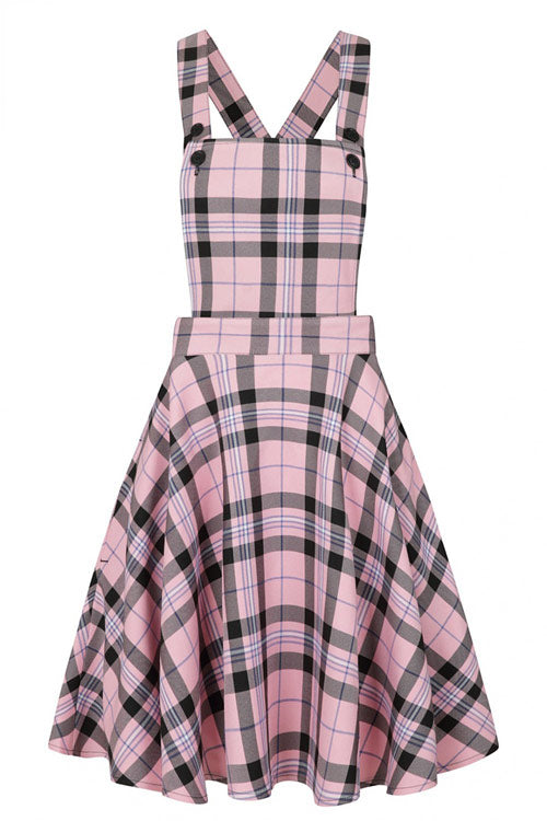 Hell Bunny Dalston Pinafore Dress