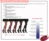 Pamela Mann Hosiery 50 Denier Opaque Pantyhose in Black