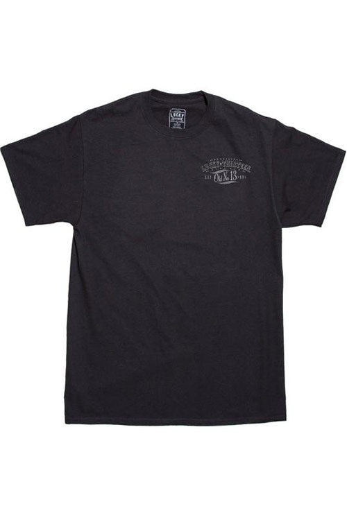 Lucky 13 Mens Black T-Shirt in Dragger