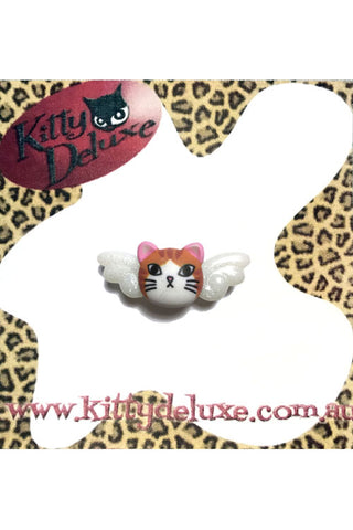 Kitty Deluxe Broochlette Brooch in Ginger Meggs 'Mummy's Little Angel'