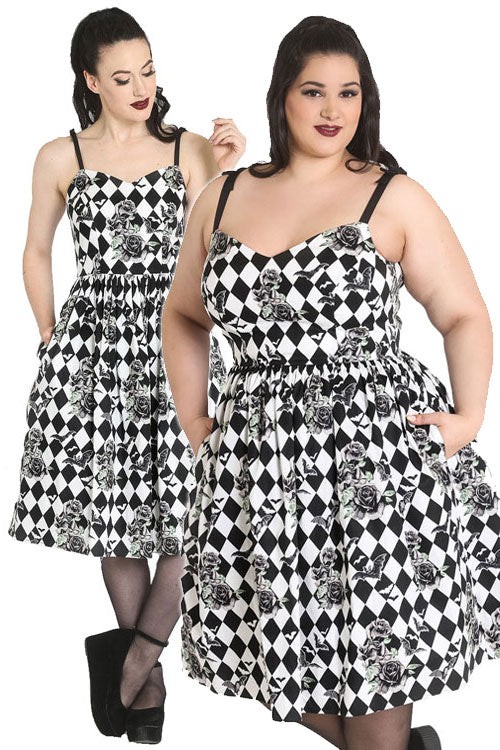 Hell Bunny Hauntley 50's Dress