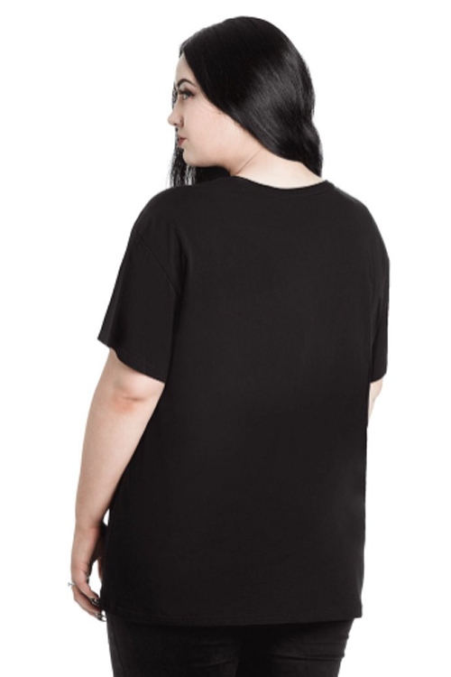 Killstar In Goth We Trust Relaxed Top