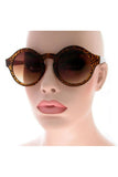 Kiss Eyewear Marissa Medium Round Sunglasses in Tortoiseshell