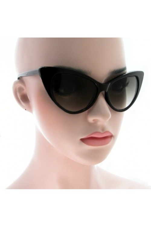 Kiss Eyewear Felicity Classic Retro Frame Cat's Eye Sunglasses in White