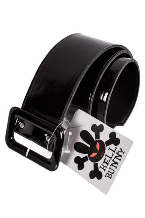 Hell Bunny Kailey Belt in Black