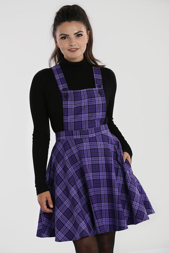 Hell Bunny Kennedy Pinafore Dress