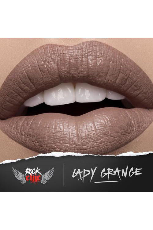 Model Rock 'Rock Chic' Liquid Lipstick in Lady Grange