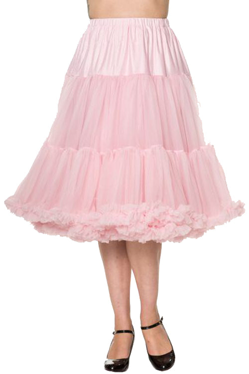 "Banned Lifeforms 26"" Super Soft Petticoat in Light Pink"