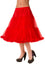 "Banned Lifeforms 26"" Super Soft Petticoat in Red"
