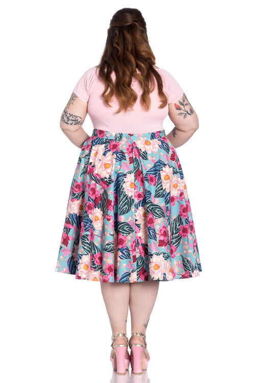 Hell Bunny Lotus 50's Skirt