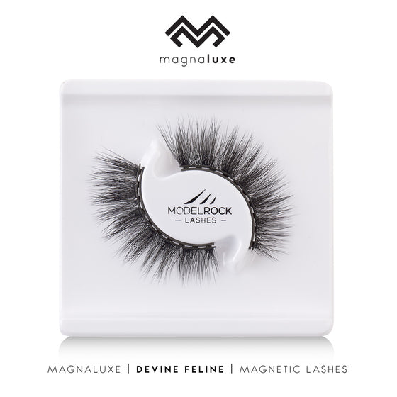 Model Rock Magna Luxe Magnetic Lash Set - Devine Feline