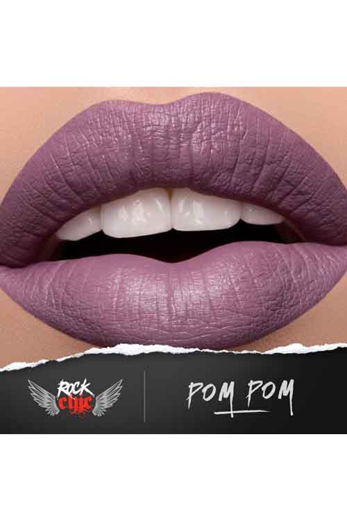 Model Rock 'Rock Chic' Liquid Lipstick in Pom Pom